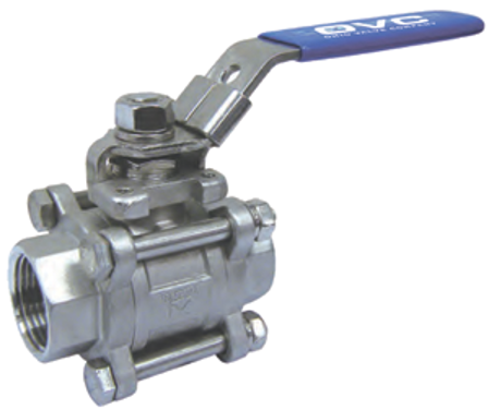 Picture for category Three Piece Ball Valve